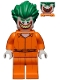 The Joker - Prison Jumpsuit, Smile with Pointed Teeth Grin
