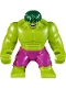 Hulk - Giant, Magenta Pants, Dark Green Hair (76078)