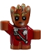 Groot - Baby, Red Outfit with Zipper