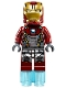 Iron Man Silver Armor - Arc Reactor on Chest (76083)