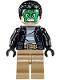 Masked Robber - Green Mask, Striped Shirt (76082)