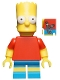 Bart Simpson with Slingshot in Back Pocket Pattern - Minifig only Entry