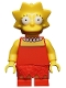 Lisa Simpson with Wide Open Eyes - Minifig only Entry