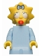 Maggie Simpson with Worried Look - Minifig only Entry