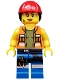 Gail the Construction Worker - Minifig only Entry