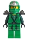 Ninja - Green (The Lego Movie, with Armor and  Scabbard)