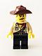 Johnny Thunder (The Lego Movie - Dark Brown Straps, White Pupils)