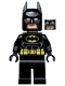 Batman - Black Suit with Yellow Belt and Crest (Type 2 Cowl, no Cape)