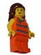 Lego Brand Store Female, Orange Halter Top - Mission Viejo