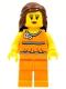 Lego Brand Store Female, Orange Halter Top - Toronto Fairview