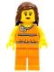 Lego Brand Store Female, Orange Halter Top - Vancouver