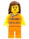 Lego Brand Store Female, Orange Halter Top - Overland Park