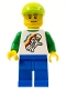 Lego Brand Store Male, Classic Space Minifig Floating - (no back printing) {Manchester}