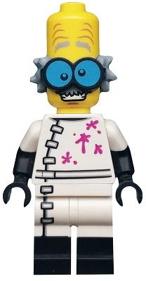 Lego FEMALE GIRL figurine figure Vert Sorcière avec Balai /& Araignée Halloween