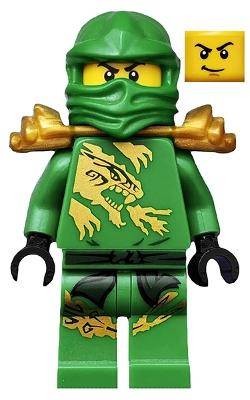 Ninjago Coloring Pages Green Ninja Tecno