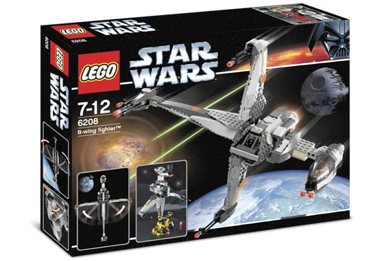 Review Of Lego 6208 1 B Wing Fighter