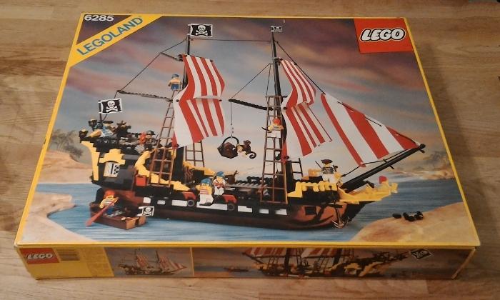 2002 海盜系列 10040 Black Seas Barracuda ( 6285 復刻版)