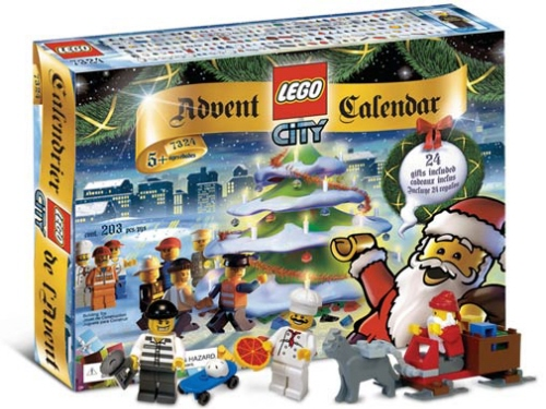 LEGO 7904 City Advent Calendar New