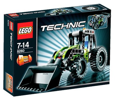 Lego Technic Building Instructions Tractor 8260
