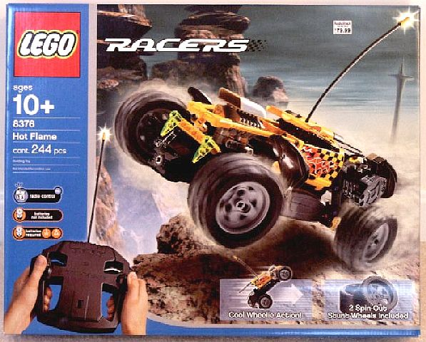 Lego Technic 8376 Hot Flame Rc Review Lego Technic