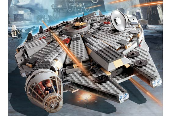 Afficher le sujet millenium falcon 7190 vs 7965 for Interieur faucon millenium