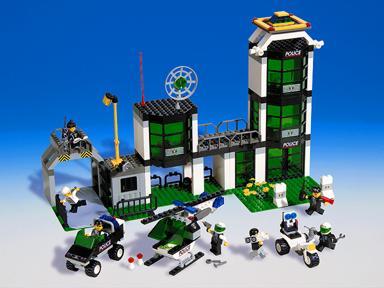 lego police station instructions 6386