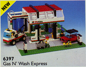 lego city garage 4207 instructions