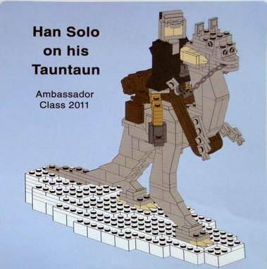 Han Solo on Tauntaun - Miniland Scale (LLCA Ambassador Pass Exclusive)