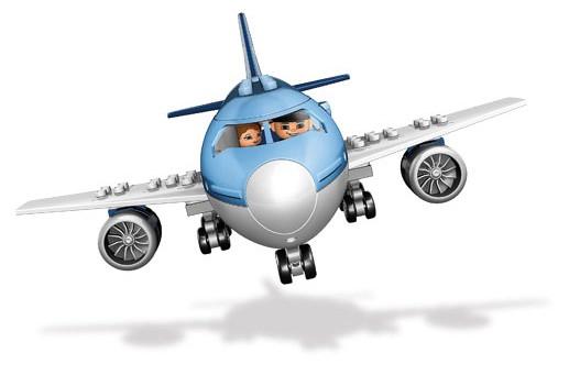 乐高拼装飞机场图片