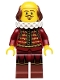 tlm008: William Shakespeare - Minifig only Entry