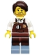 tlm010: Larry the Barista - Minifig only Entry