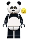 tlm015: Panda Guy - Minifig only Entry