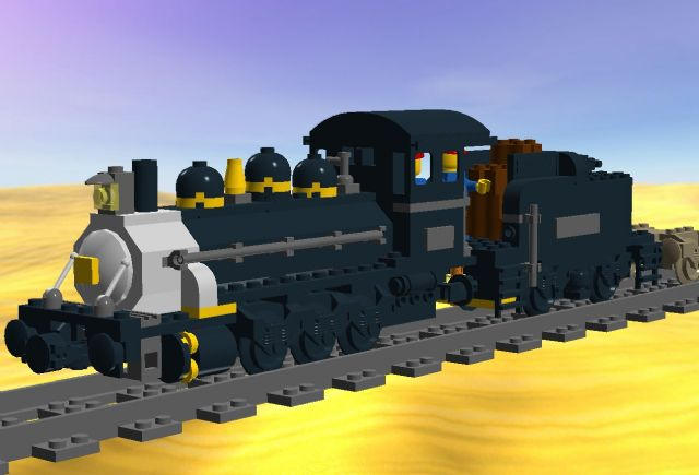 My current interest is 9v Trains - my first Steam Engine MOC!