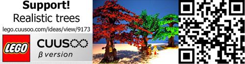 LEGO CUUSOO Realistic Trees