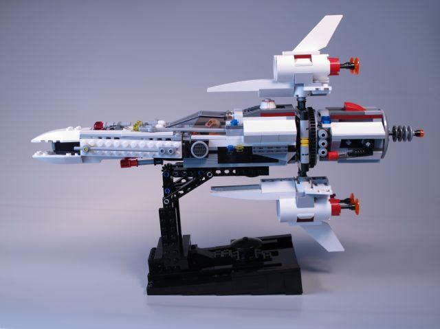 Custom Star Wars Inspired Fighter Interceptor!