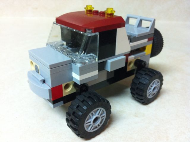 Ride Height Adustable Truck