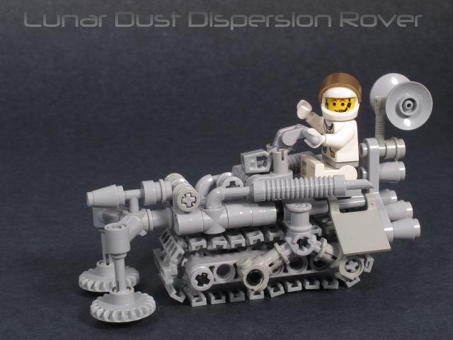 Lunar Dust Dispersion Rover
