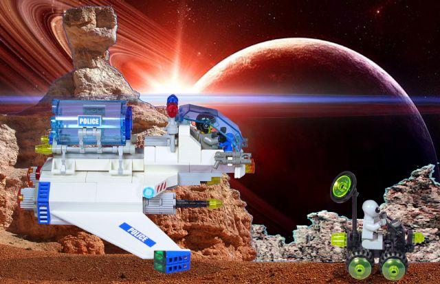 Space Police III MOC