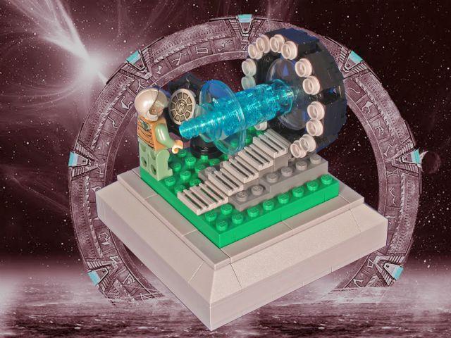 8x8 Movie Themed MOC - Stargate