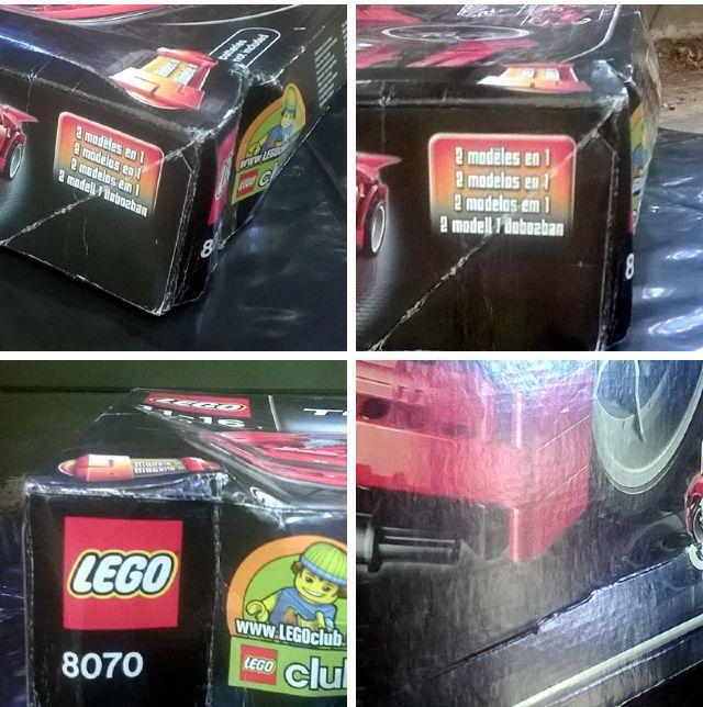 Damage to the LEGO set