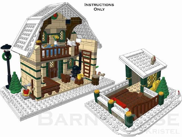 Winter Barn House